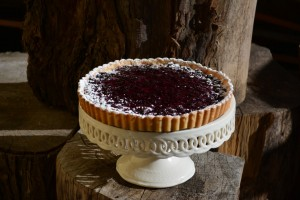 Huckleberry Tart or Blueberry Tart
