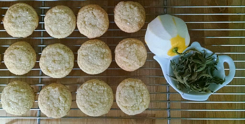 Lemon Snap Snaps with Lemon Verbena