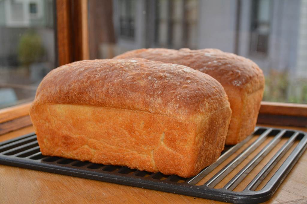 fresh-baked-bread-cooling