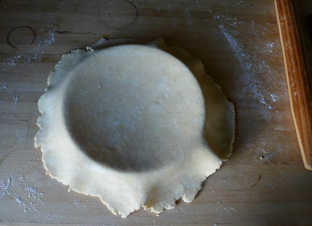 Best-Pie-Dough-draped-on-pan