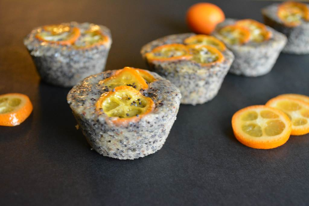 Kumquat Poppy Seed Financiers