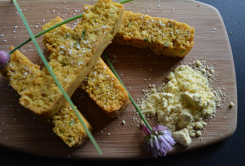 Corn-Sticks-Chive-Flower-with-Corn-Flour