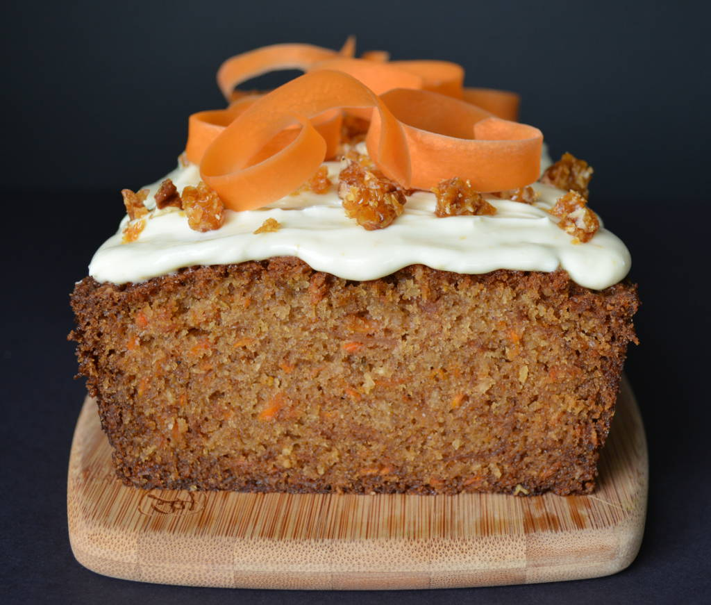Carrot Cake with Goat Cheese Frosting