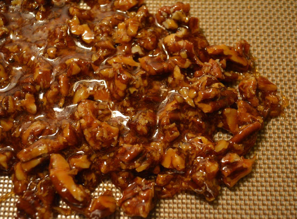 Cooling Pecan Coconut Brittle