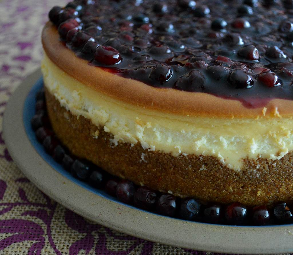Huckleberry Cheesecake