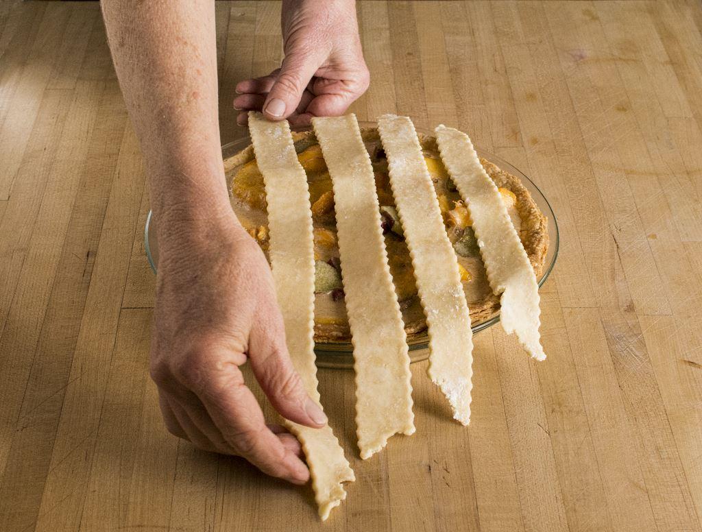 first-layer-lattice-pie-weave