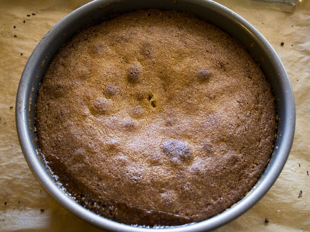 peach-rosemarry-cornmeal-cake-baked