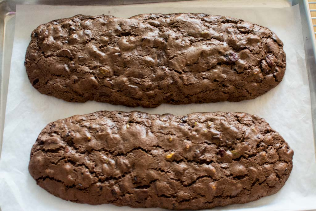 chocolate-pistachio-cranberry-biscotti-first-bake